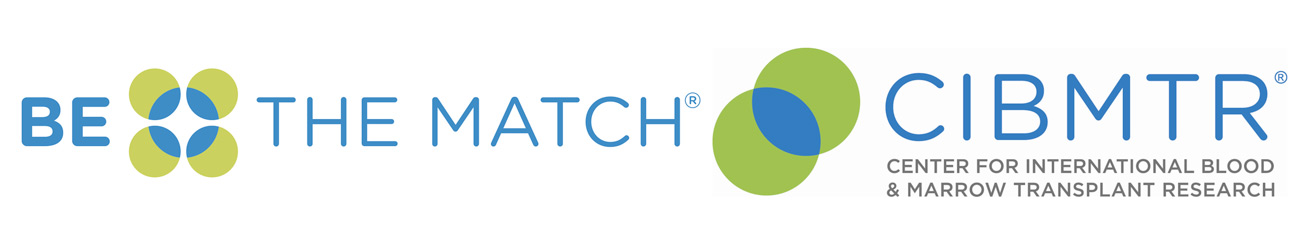 Be the match and CIBMTR logos